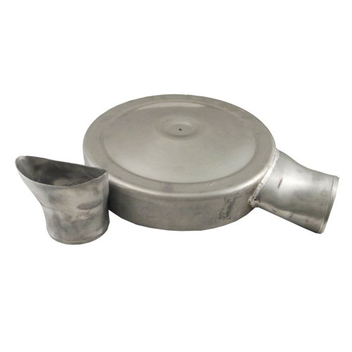 """Price comparison product image Spectre Performance (SPE-98625) 14"""" Low Profile ProFab Inlet Kit"""