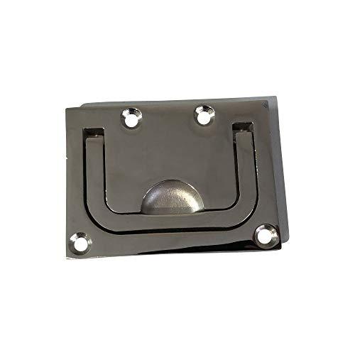 ARBO-INOX® - Bodenheber - Edelstahl A4 - gegossen - 75x55mm - poliert - rechteckig