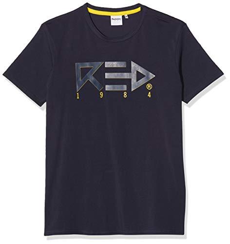 Redskins Herren Artemus Calder T-Shirt, Blau (Navy H19Artcal2), Medium