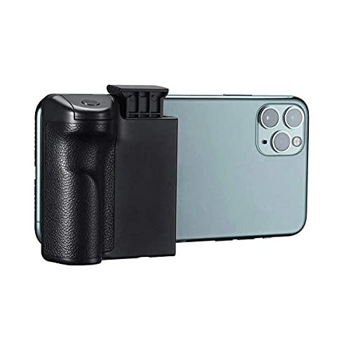 Smartphone Supporto Treppiede con Telecomando Selfie Stick Treppiede Adattatore Testa Monopiede Supporto Telefono Vlog Anti-Shake Impugnatura Singola