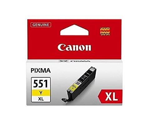 Canon CLI-551XL Cartouche Y Jaune XL (Pack plastique sécurisé)