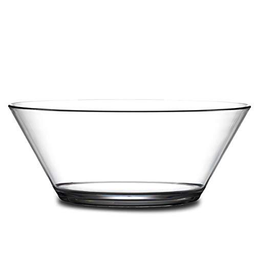 BB Plastics 621-1CL Serving Bowl, Polycarbonate Plastic, 1750ml