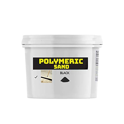 Polymeric Sand - Black 18lbs Joint Stabilizing Sand for Pavers