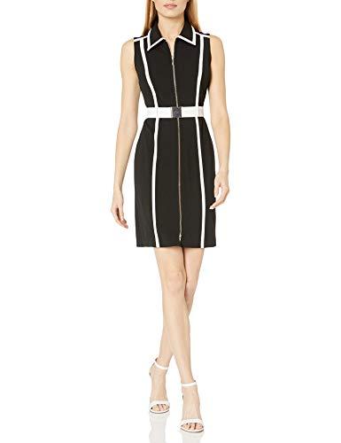 Tommy Hilfiger Women's Scuba Zip Up Dress