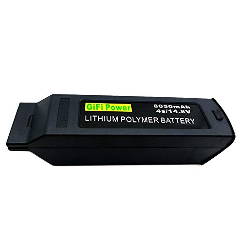 MaximalPower Gifi Power 8050mAh 14.8V 4S High Power LiPo Flight Battery for Yuneec Typhoon H Drone (2X 8050mAh 4S LiPo Battery-H)