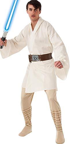 Rubie's Men's Star Wars A New Hope Deluxe Luke Skywalker Costume, As Shown, Standard