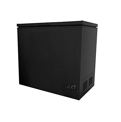 Compact Chest Freezer 3.5/5.0/7 Cubic Feet Free-Standing Top Door Freezers Refrigerator Compact Space Apartment Home Food Storage (7 Cubic Feet)
