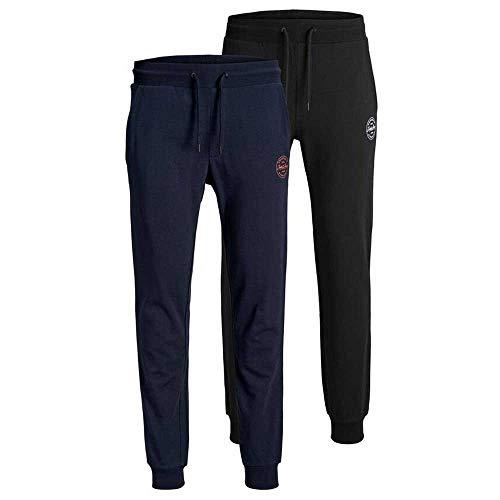 Jack & Jones Lot de 2 Pantalons de Jogging Gordon Shark