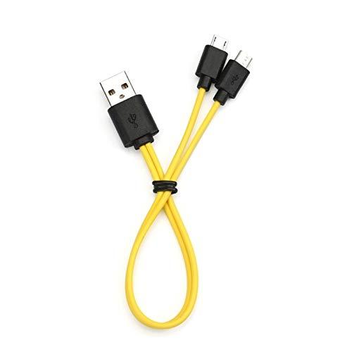 NLLeZ 1pcs 2/3/4 IN1 Mini Cable de Carga USB para batería Recargable para Sam-Sung XIAO-MI HTC Mini Cable USB (Color : A)