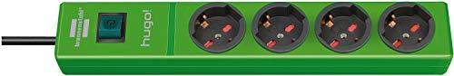 Brennenstuhl 1150615194 Stekkerdoos, model: Hugo!, groen