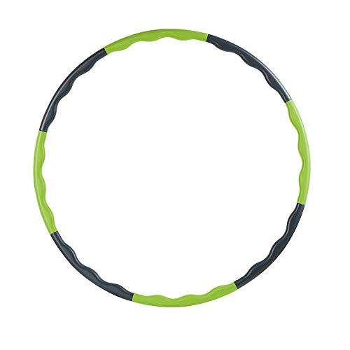 8 Teile Kinder Hoola Hoop, Massage Reifen, Durchmesser 80cm, 320g Reifen, Abnehmbar, Tragbar Reifen, zerlegbar, klein, für Training, Sport & Spiel, Gymnastik für 10–18 Jahre alte Kinder