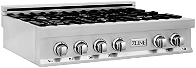 ZLINE 36 in. Rangetop with 6 Gas Burners (RT36)