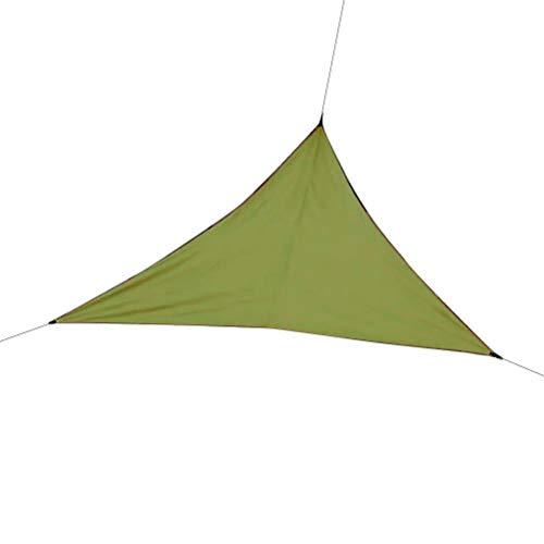 Neborn Parasol Triangular, protección para Exteriores, baldaquino para jardín, terraza, Piscina, toldo, Camping, Picnic, Tienda de campaña