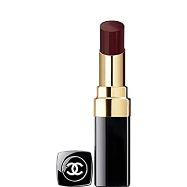 CHANEL ROUGE COCO SHINE HYDRATING SHEER LIPSHINE # 128 NOIR MODERNE