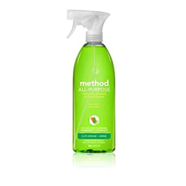 Method All Purpose Cleaner, Cucumber, 28 Ounce (Pack 8)