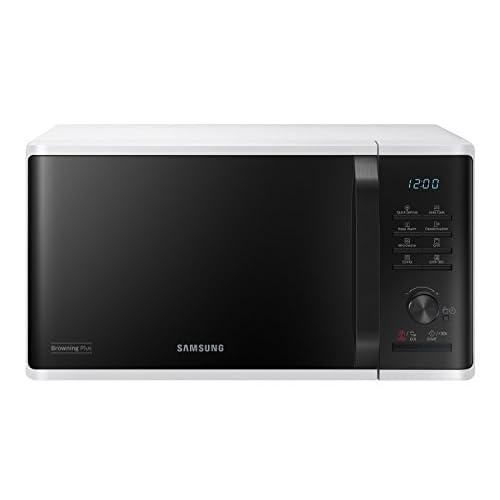 Samsung MG23K3515AW Forno Microonde Grill Combinato, 23 Litri, 48.9 x 27.5 x 39.2 cm, 800 W, Grill 1100 W, Bianco