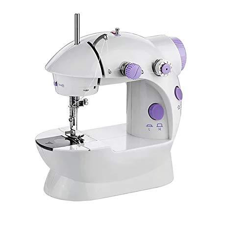 Yissma draagbare handnaaimachine, draagbare elektrische handnaaimachine met naaimachine, 1 handleiding (mogelijk niet beschikbaar in het Nederlands), 1 adapter.