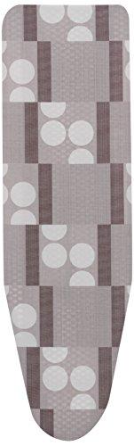 Rolser Logos - Copriasse di ricambio, mollettone, 140 x 55 cm, colore grigio.