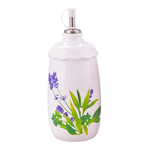 ZXC Home Botella de Aceite de Soja Salsa de Botella vinagre Set de Cocina Creativa a Prueba de Fugas de Aceite del condimento Botella de Cristal de Cocina de la Botella a Prueba de Fugas de Aceite