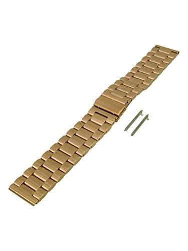 Herenhorlogebandje roestvrij staal geschikt voor Samsung Gear S3 400008