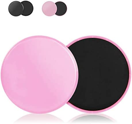 Core Sliders 2 Pack Dual Sided Gliding Discs Use On Hard Wood Floors or Carpet Exercise Fitness product image