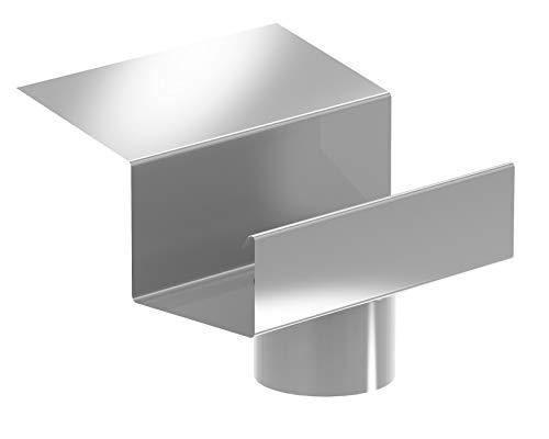 Ablaufstutzen Simpel Aluminium Natur