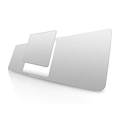 lention Palm Rest Cover Skin mit Trackpad Schutz Folie für MacBook Pro (13 Zoll, 2016-2020, A1706/A1708/A1989/A2159,Vinyl Schutzaufkleber (Silber)