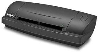Ambir DS687 Duplex A6 ID Card Scanner with Scan 3 for Athena, 4.5sec Single-Sided B/W/6sec Duplex, 600dpi, USB 2.0