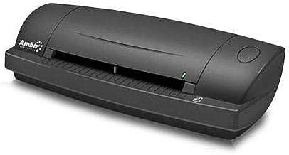 Ambir DS687 Duplex A6 ID Card Scanner with Scan 3 for Athena, 4.5sec Single-Sided B/W/6sec Duplex, 600dpi, USB 2.0 photo