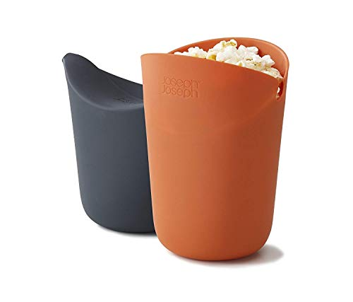 Purchase ZXvbyuff Cuisine Portion Popcorn Maker, Microwaveable Silicone Popcorn Popper, BPA Free Col...