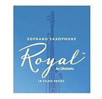 CAムAS SAXOFON SOPRANO - Rico Royal (Caja Azul) (Dureza 1 ス) (Caja de 10 Unidades)