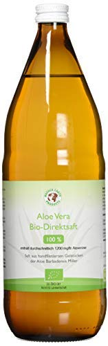Bio Aloe Vera Saft - 100% Direktsaft, 1 x 1000ml