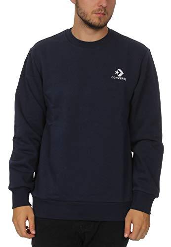 Converse Sweatshirt Herren Star Chevron EMB Crew 10008816 Navy 467, Größe:XL