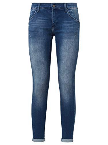 Mavi Damen Lexy-10734 Jeans, Mid Brushed Glam, 27W