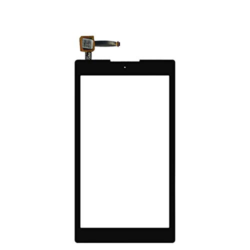 Screen replacement kit Fit For Asus Zenpad C 7.0 Z170MG Touch Screen Glass Digitizer Glass Lens Sensor Repair kit replacement screen (Color : Blcak)