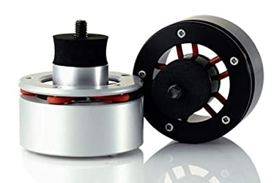 Isonoe Audio Isolation System (For Technics 1200, 1210) Set of 4 BLACK (25Kg) by Isonoe