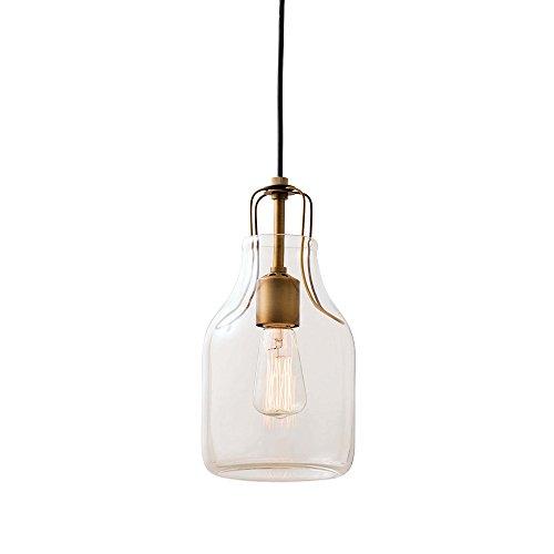 インターフォルム ペンダントライト オリテ ボトル型 レトロ電球付き