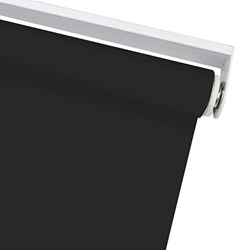 5 ☆ very popular Blackout Cordless Window Roller Shades Custom Shad Black Selling and selling