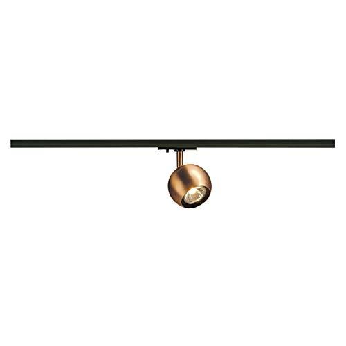 SLV LIGHT EYE Spot für Hochvolt-Stromschiene 1Phasen Stahl GU10, kupfer