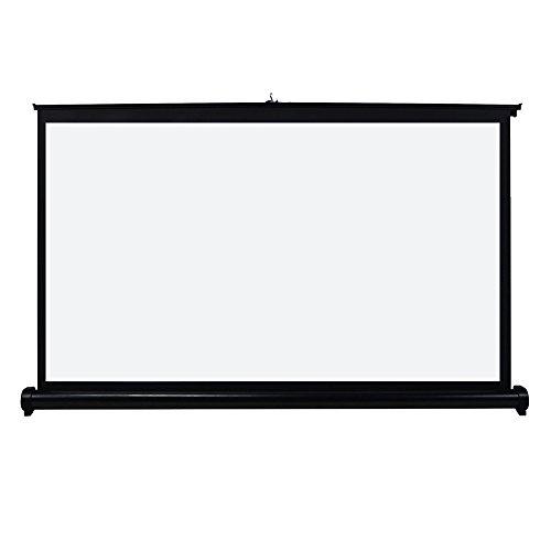 UNIC ポータブル プロジェクタースクリーン 自立式床置き型 吊り下げ ホームシネマプロジェクタ用 (50インチ-16:9)