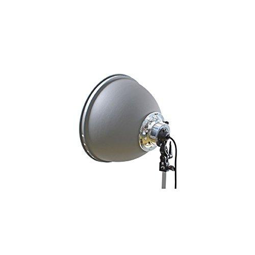 Linkstar 564170 - Accesorios para Flash de Estudios fotográficos (Lamp Reflector, 4 cm, 84W) Negro, Color Blanco