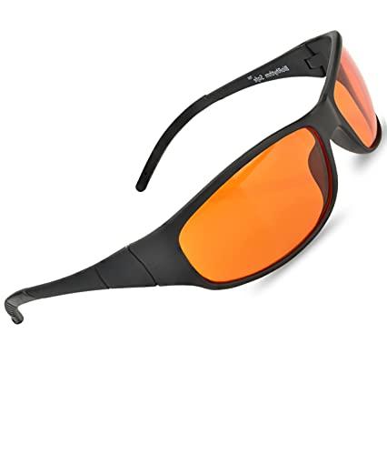 Blue Blocking Amber Glasses for Sleep -...