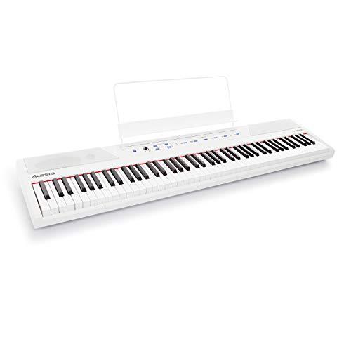Alesis Recital White - 88 Key Digital Electric Piano / Keyboard with Semi...