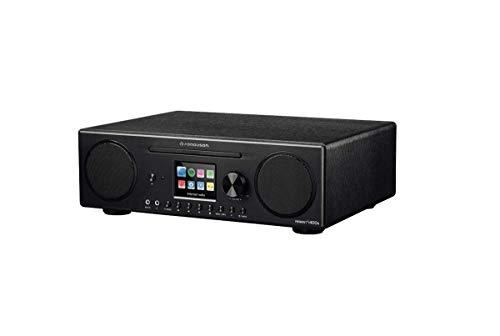 Ferguson Regent digitale internetradio i400s DAB, DAB+ & FM | Spotify, Bluetooth, Wi-Fi, cd-speler, USB, hoofdtelefoonuitgang 3,5 mm, AUX | Toegang tot uw multimedia-netwerk thuis