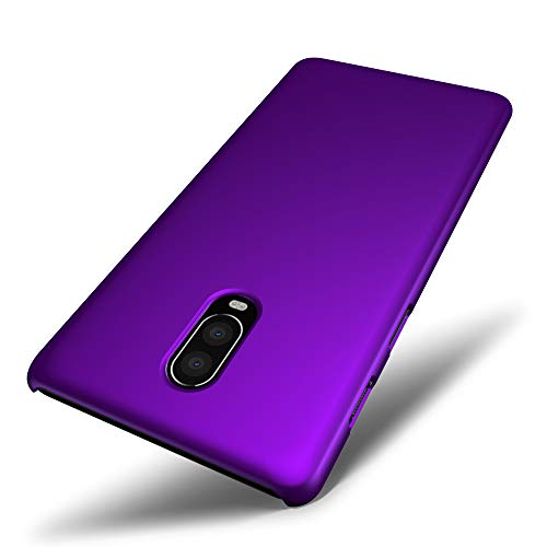 SLEO Custodia OnePlus 6T, Cover per OnePlus 6T Thin Fit [Cover Sottile & Robusto] Rivestimento Soft-Feel, Ultra Leggero Protetto PC...