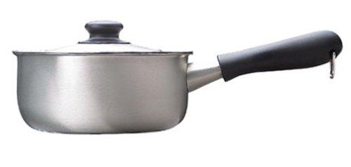 柳宗理『ステンレス片手鍋18cmつや消し』