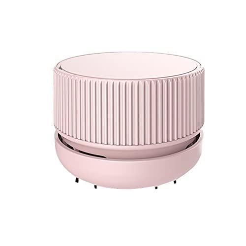 Aspirador Escritorio Miniaspirador Mesa Aspiradora de Escritorio Mini Diseño de Ahorro de energía Mini barredora de Polvo de Mesa de Mano Pink,One Size