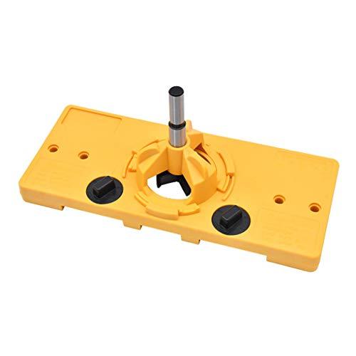bibididi 35Mm Hinge Jig Drilling Set Guide Door Hole Opner Puncher Locator Lavorazione del Legno, Tabella di conversione delle Misure