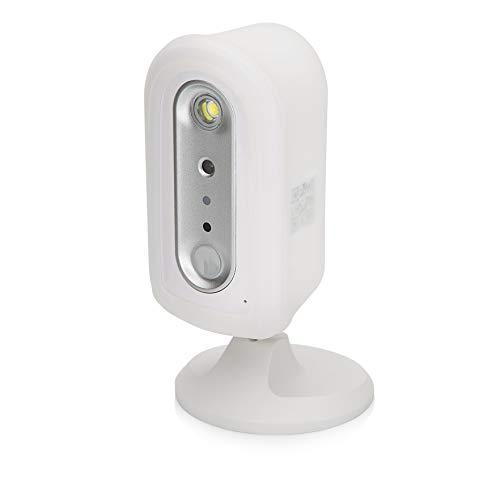 SEC24 CAM112 - IP Telecamera Ricaricabile per Interni ed Esterni per WiFi o LAN - Completamente Senza Fili - Rilevazione di Movimento - Adatto per l'app OMGuard HD - con Batteria Ricaricabile