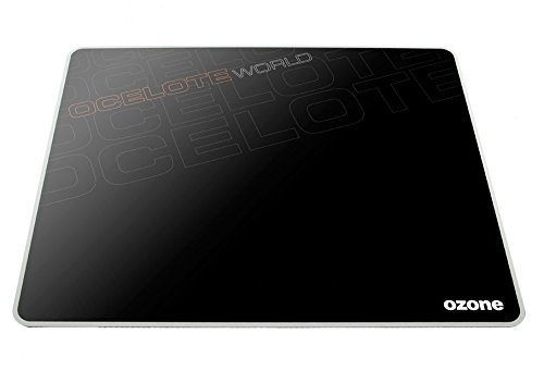 Ozone Gaming Ocelote - Alfombrilla para ratón, Color Negro